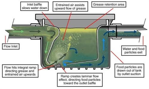 Grease trap treatment system